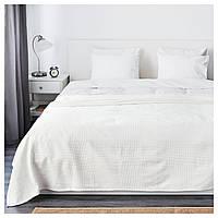 IKEA INDIRA Покривало, білий (303.962.45)