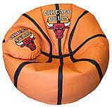 Пуфик детский кресло мяч Литачки с именем, фото 7
