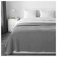 IKEA INDIRA Покривало, сірий (103.890.76)