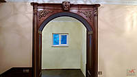 Портал, портал в дом, портал дубовый, арка межкомнатная под заказ