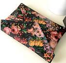Клатч - конверт с цветочным принтом., фото 3