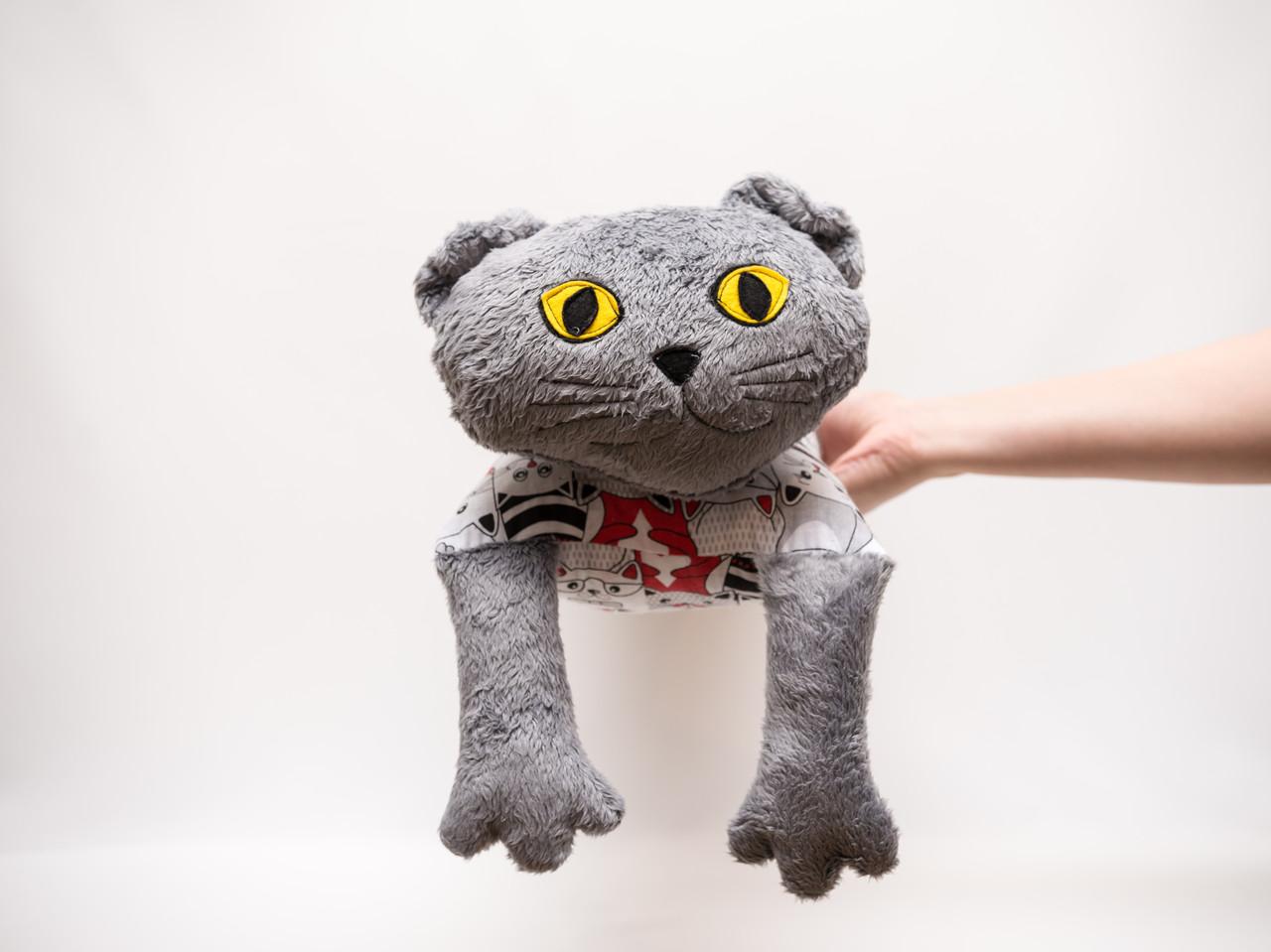 Диванная подушка вислоухий Кот