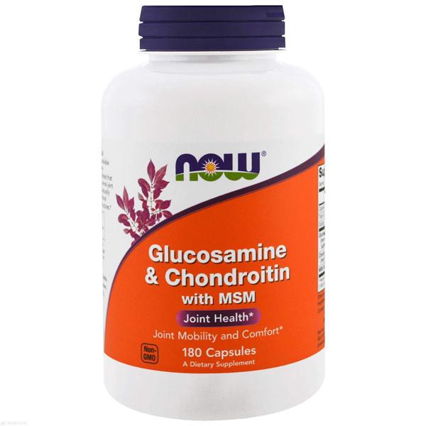 Глюкозамин 180 капс. Now Foods