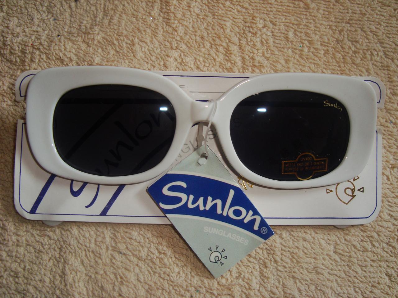 Белые летние очки