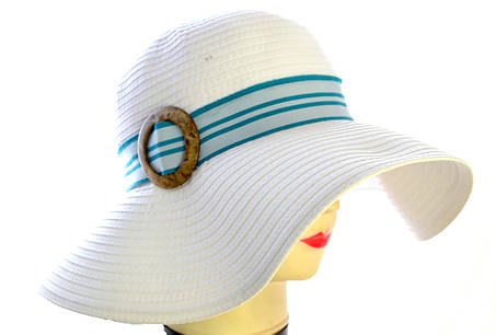 "Шляпа летняя ""Танго"" пряжка., фото 2"