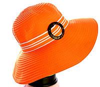 """Шляпа летняя """"Танго"""" пряжка."""