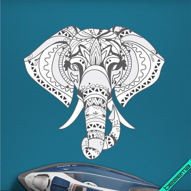 Переносити на двунитку термо Слон [Свій розмір і матеріали в асортименті]