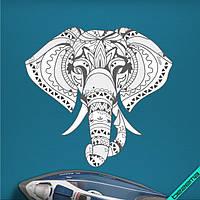 Переносити на двунитку термо Слон [Свій розмір і матеріали в асортименті], фото 1