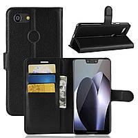 Чехол-книжка Litchie Wallet для Google Pixel 3 XL Черный