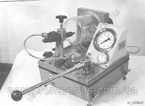КИ 15706-01 Стенд для испытания и регулировки форсунок литой чугунный корпус, фото 3