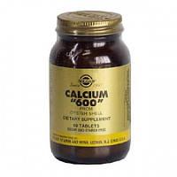 Кальций 600 из раковин устриц (Calcium 600) Солгар №60