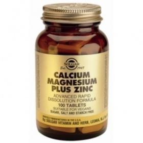 Кальций Магний Цинк (Calcium, Magnesium, Zinc) Солгар №100