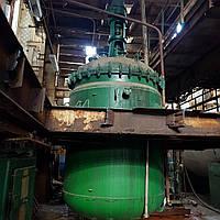Емкость реактор эмаль мешалка 6.3м3