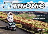 Легкий Алюминиевый Роллятор Trionic Veloped Sport Rollator 12er Medium 150 кг, фото 3