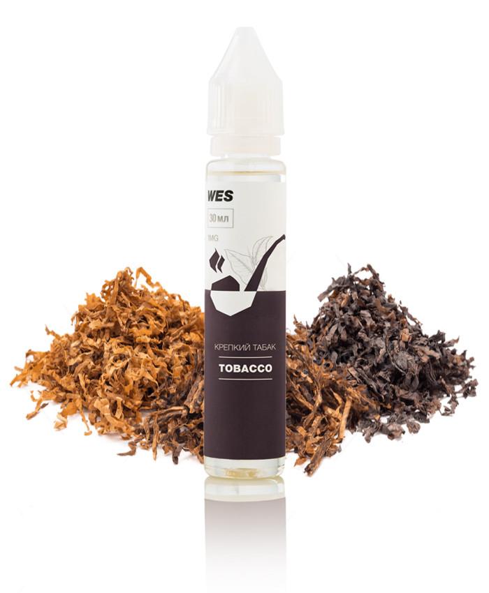 """Жидкость (заправка) для электронных сигарет/вейпа WES The First """"Tobacco"""" 30 мл (Крепкий табак)"""