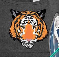 Термопечать на трехнитку Тигр [Свой размер и материалы в ассортименте]