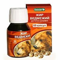 Экосвит ОЙЛ Жир медвежий капсулы 0,3 г №60