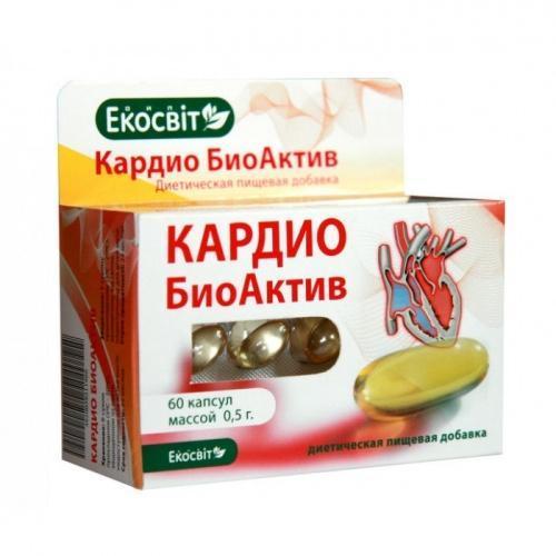 Экосвит ОЙЛ Кардио БиоАктив 0,5 г №60