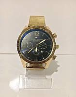 Мужские наручные часы Tomy Hiifiger (Томми Хилфигер), золотистый цвет, фото 1