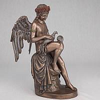 Статуэтка Veronese Амур с голубями 26 см 73717 A4, символ любви