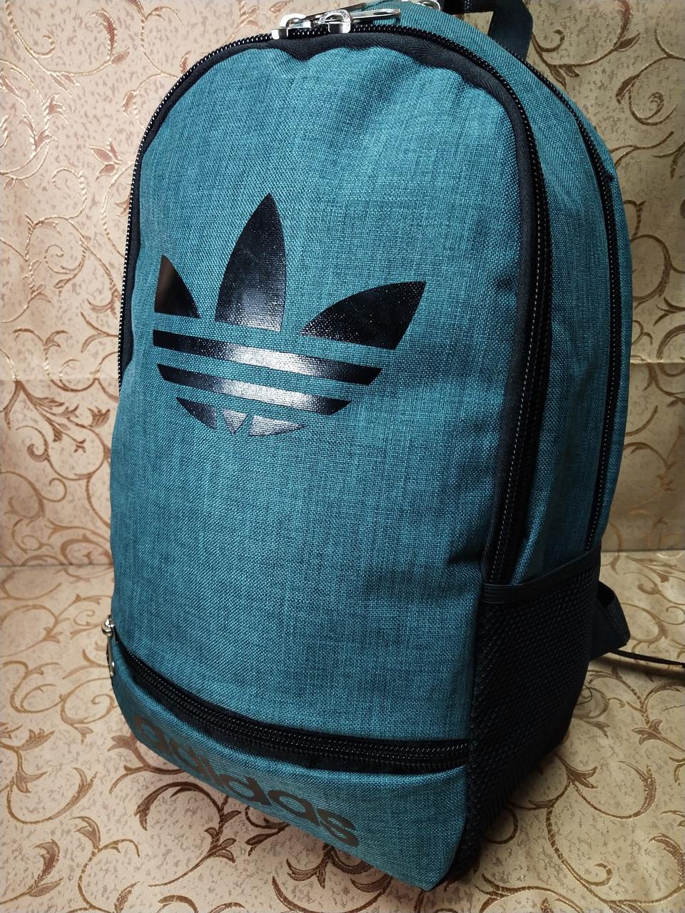 (44*30-большое)Рюкзак спортивный ADIDAS Мессенджер спорт городской стильный Школьный рюкзак только опт