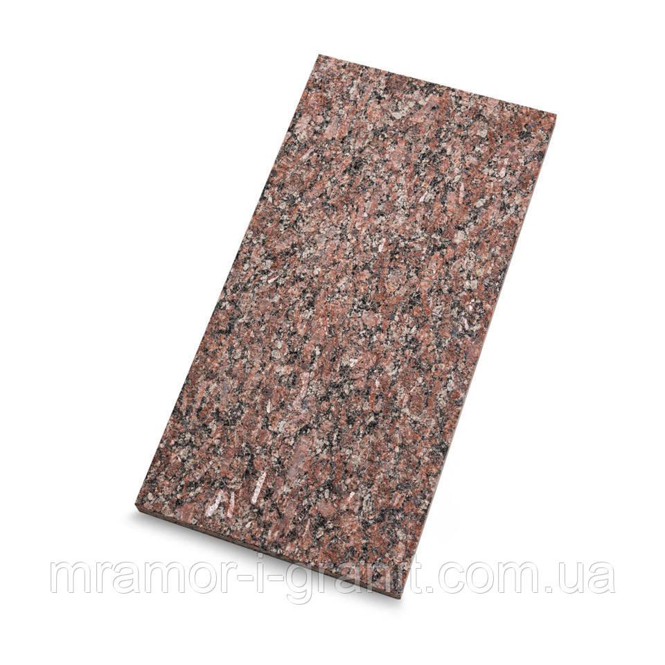 Гранитная плитка Капустинского месторождения термо