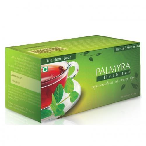 Чай Пальмира Харт Бит (Tea Heart Beat) сердечный, (Индия)
