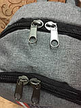 (44*30-большое)Рюкзак спортивный ADIDAS Мессенджер спорт городской стильный Школьный рюкзак только опт, фото 5