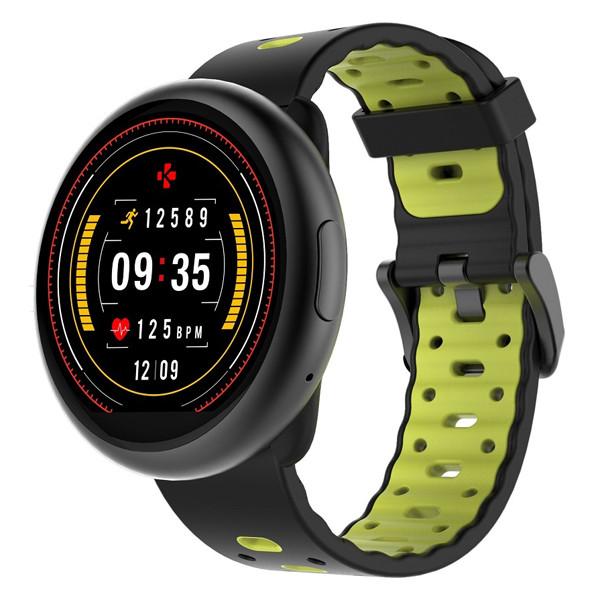 Смарт-часы ZeRound2 HR PREMIUM черный/желтый MyKronoz
