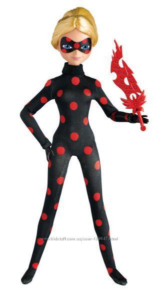 а, Кукла АнтиБаг Miraculous Antibug Fashion Doll, 27см шарнирная СуперКот