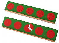 Металлические дроби-вкладыши (круги) с двумя подставками