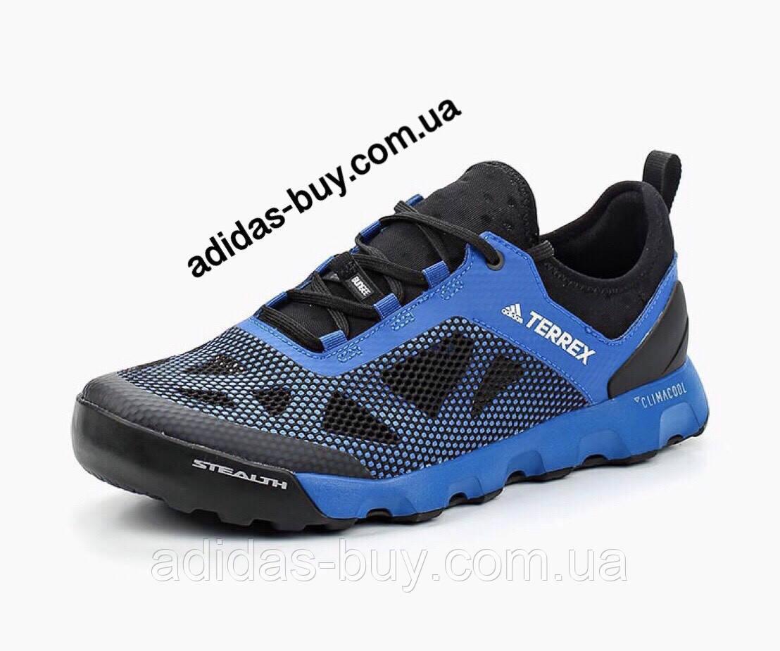 Кроссовки оригинал мужские TERREX CC VOYAGER AQUA M CM7540 цвет: синий, черный сезон: лето