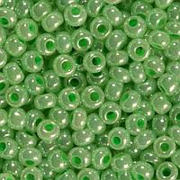 Бісер Preciosa Чехія №37356 зелений світлий
