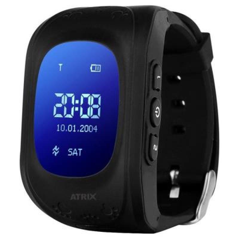 Умные часы детские Smartwatch iQ300 GPS ATRIX black