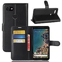 Чехол-книжка Litchie Wallet для Google Pixel 2 XL Черный