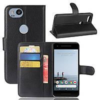 Чехол-книжка Litchie Wallet для Google Pixel 2 Черный