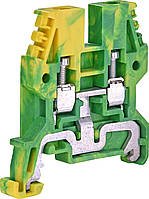 Клема гвинтова заземляюча ESC-TEO.4 (4 мм2, жовто-зеленаяя) ETI