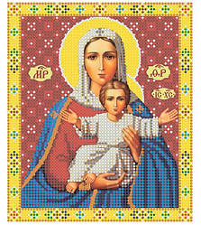 "Ікона Святої божої матері ""Леушинская"""