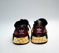 promo code 8f052 9cce8 Кроссовки Adidas NMD R1 x Gucci Black (адидас нмд гучи, черные)