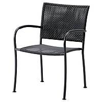 IKEA LACKO Садовый стул, серый  (401.604.78), фото 1