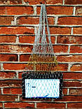 Авоська золото и серебро - модная сумка, фото 4