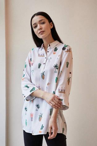 Рубашка женская из колекции Анны Рудак XS, фото 2