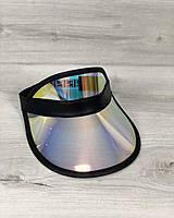 Солнцезащитный козырек на голову (пластиковый)