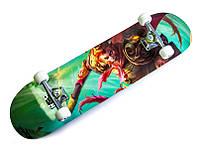 """Скейт деревянный """"Король Обезьян"""", нагрузка до 80 кг, фото 1"""
