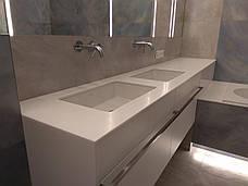 Столешница в ванную из акрилового камня Tristone S 203, фото 2