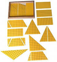 Треугольники для построения площадей