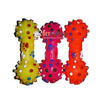 Гантель резиновая с шипами 4-3