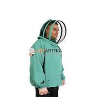 Куртка пчеловода с маской евро размер 62-66