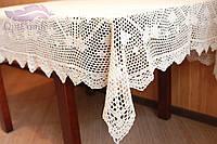 Скатерть Крупная вязка на кухонный стол, фото 1