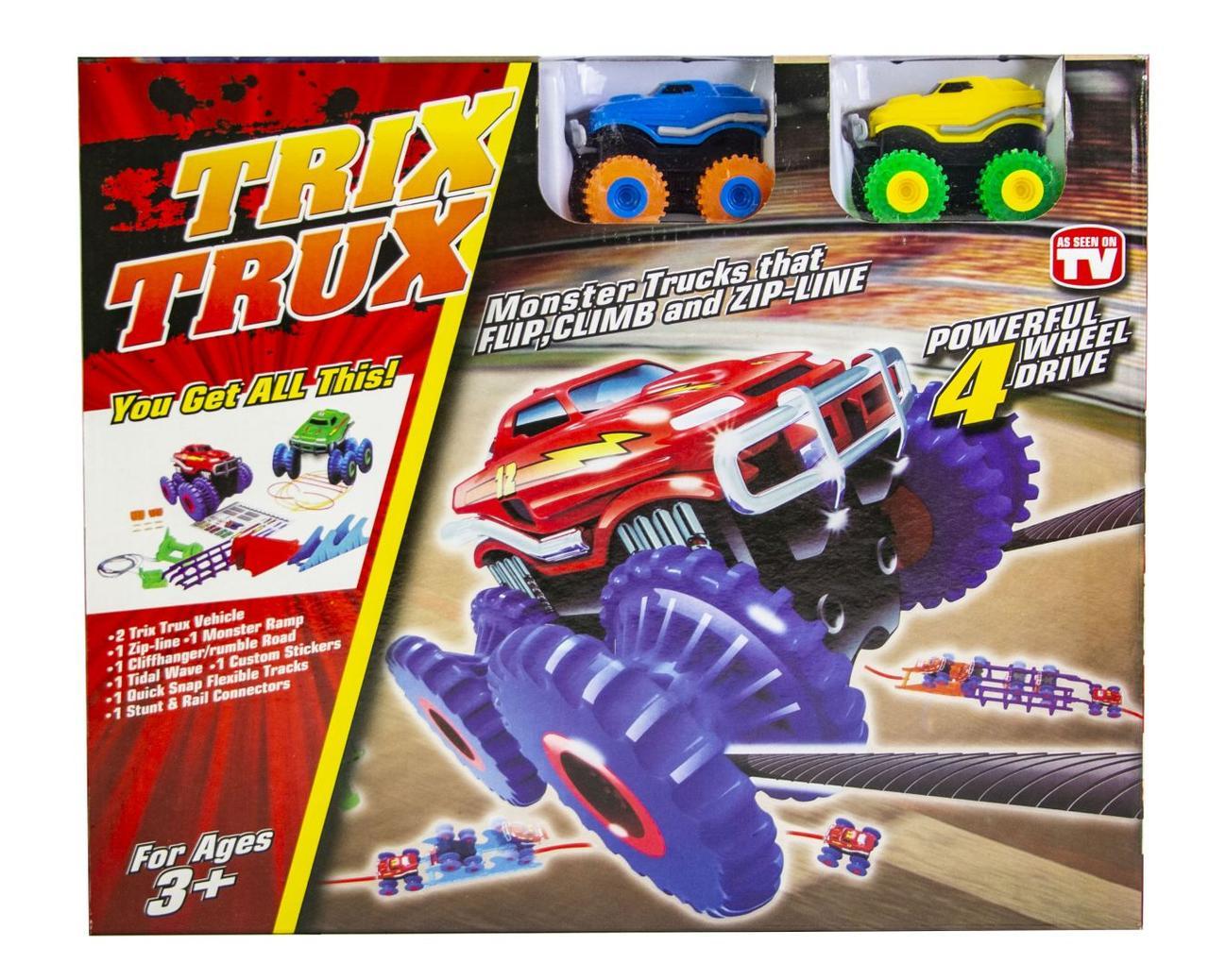 Монстер-Траки (Trix Trux) на две машинки